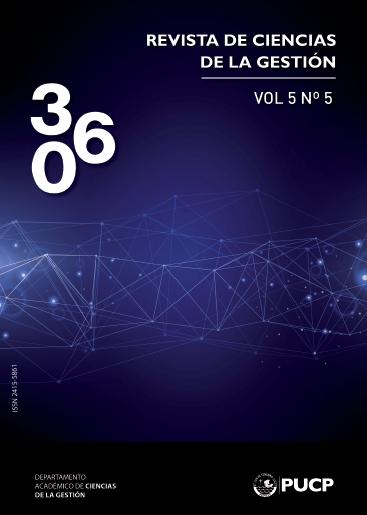 360 Revista De Ciencias De La Gestion